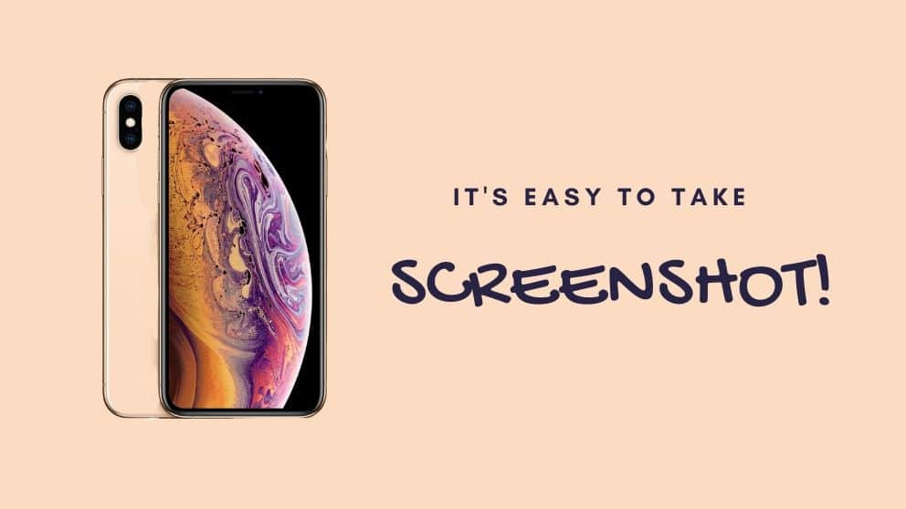 How To Take A Screenshot on iPhone X XR or 11