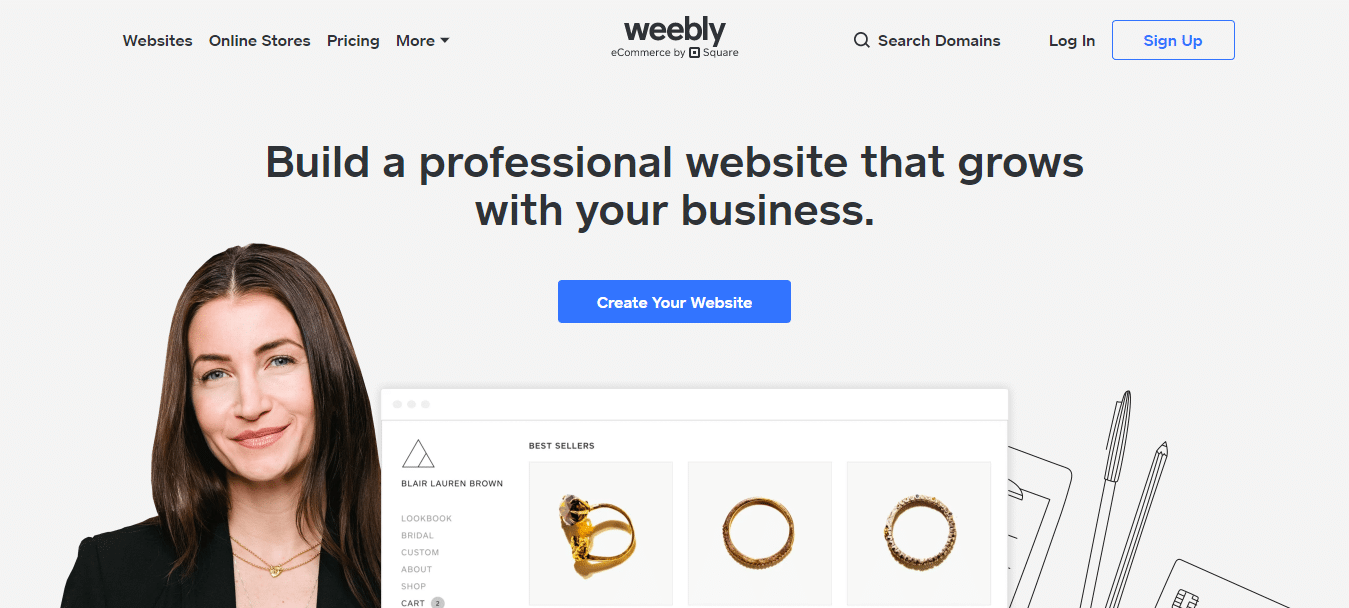 Free Website Builder - Build a Free Website or Online Store - Weebly