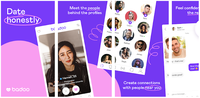 Badoo Dating App - Chat, Date & Meet New People - Best app to chat with strangers