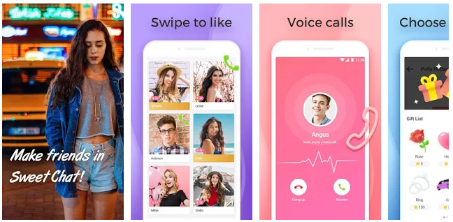 Sweet Chat - Random Chat ,Make Friends, Meet me - Best chat apps 2021