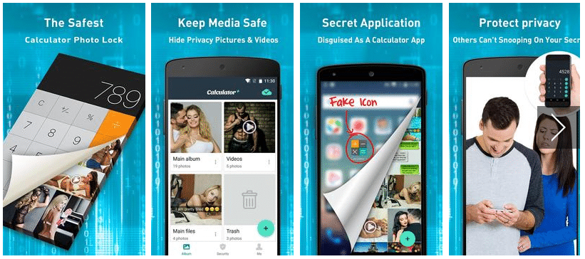 Vault Calculator Hide Pictures for Android - APK Download