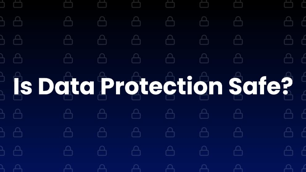 Disadvantages of Data Protection