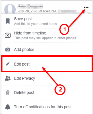 how to make my post not shareable on facebook
