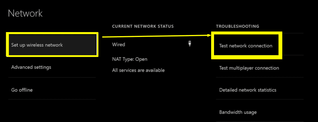 xbox one can't connect to your dhcp server